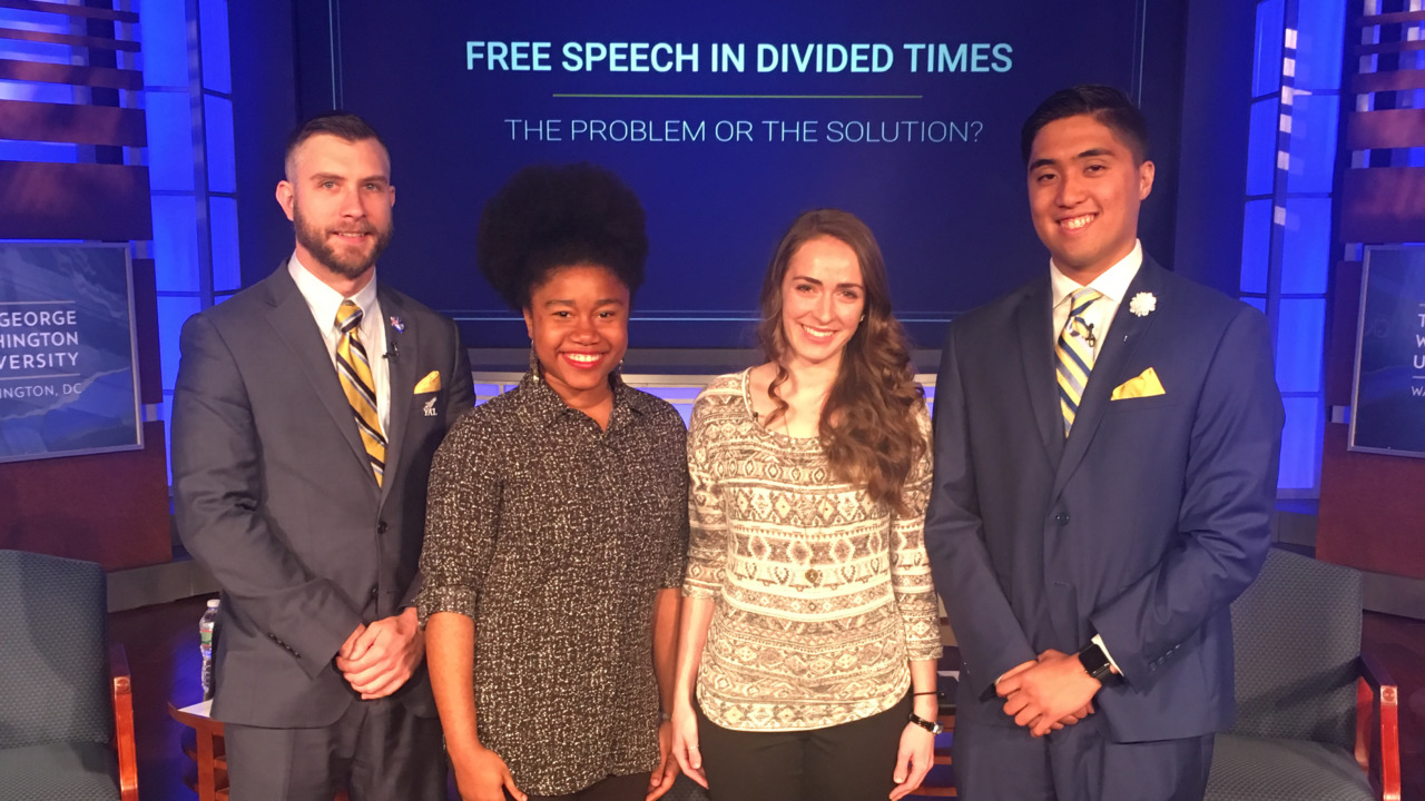 Meet 4 college students giving us hope for the future of free speech
