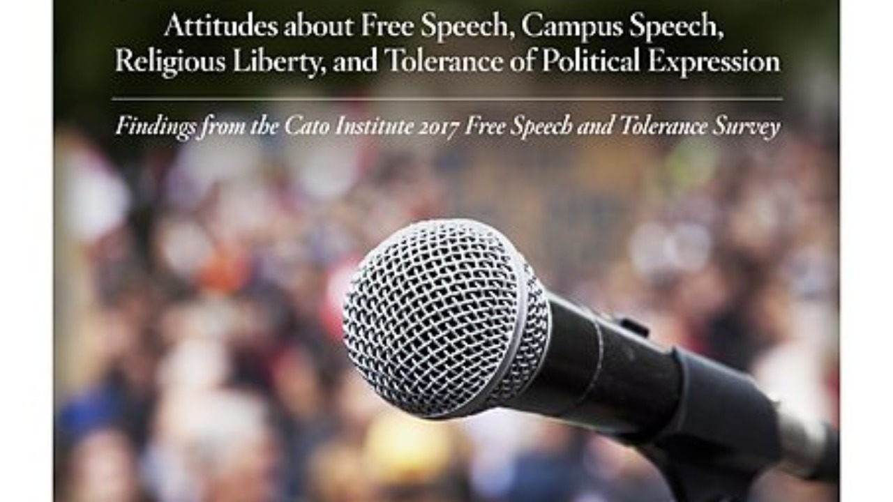 CATO Institute: The State of Free Speech and Tolerance in America