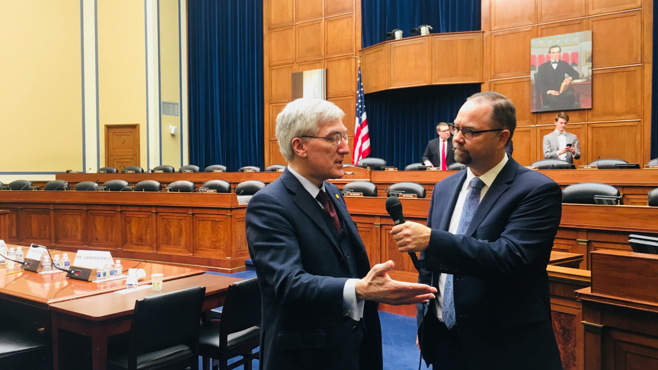 Post-Hearing Interview with Dr. Robert P. George and CAF Director, Tyson Langhofer